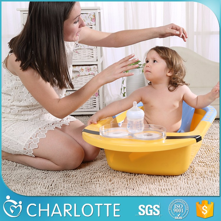folding portable bathtub plastic baby bath book