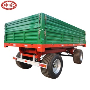 China heavy duty cheaper tractor truck trailer dump trailer 7ton 8ton