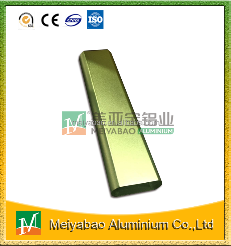 Factory Price Direct Selling Matte Golden Anodized Aluminum Profile