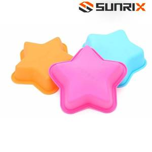 Five-Star Design Colorful Silicone Ramekin