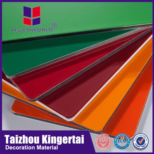 Alucoworld home decoration aluminium composite panel for kitchen cabinets acp sheets manufacturers in guangzhou