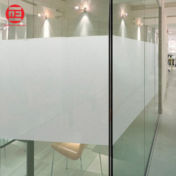 Decorative Frosted Glass Film Sandblast Vinyl Film Pvc Self Adhesive Static  Cling - Buy Film Frosted,Window Film,Sandblast Vinyl Film Product on