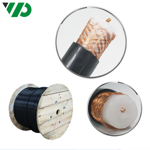 SYV 75-17-12 Solid Radio Frequency Plain Annealed Copper Braided Wire Shielded Coaxial Cable