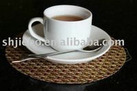 PVC woven coasters, cup pads