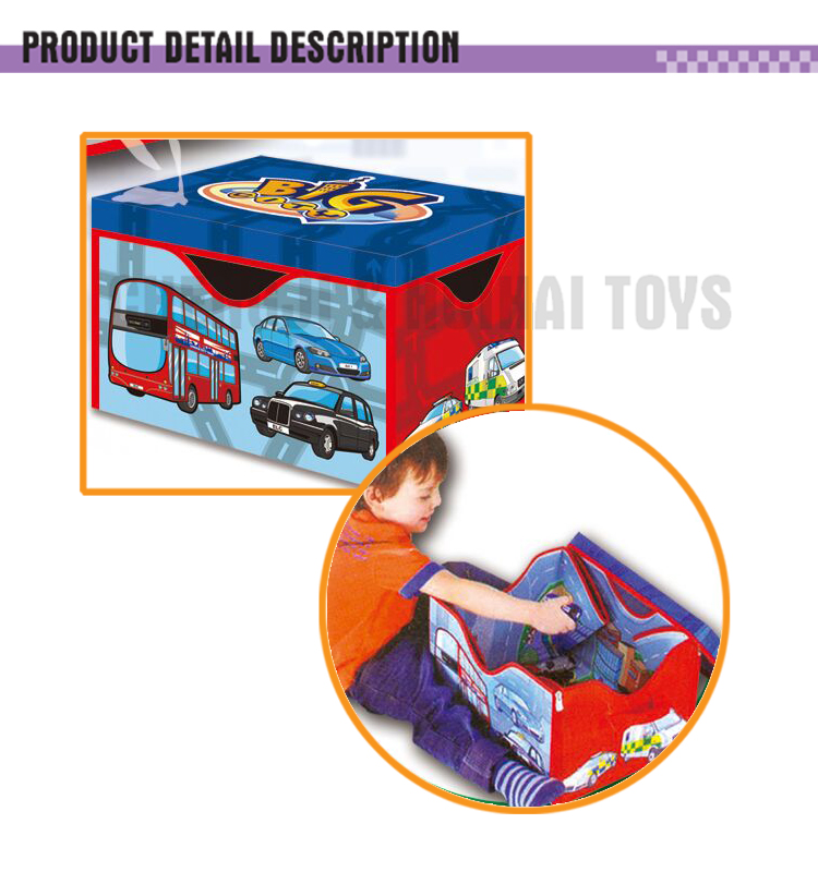 Road Storage Case And Playmat Map Game Carpet For Kids