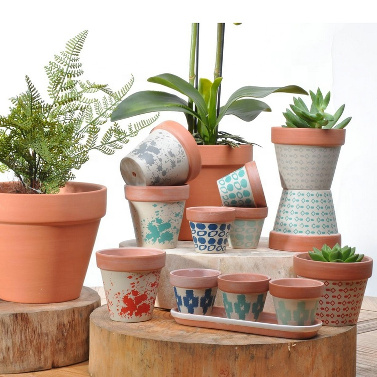 Wholesale Custom Mexico Home Bonsai Plant Por Large Cheap Terracotta Pots -  Buy Large Cheap Terracotta Pots,Terracotta Bonsai Pot,Terracotta Plant