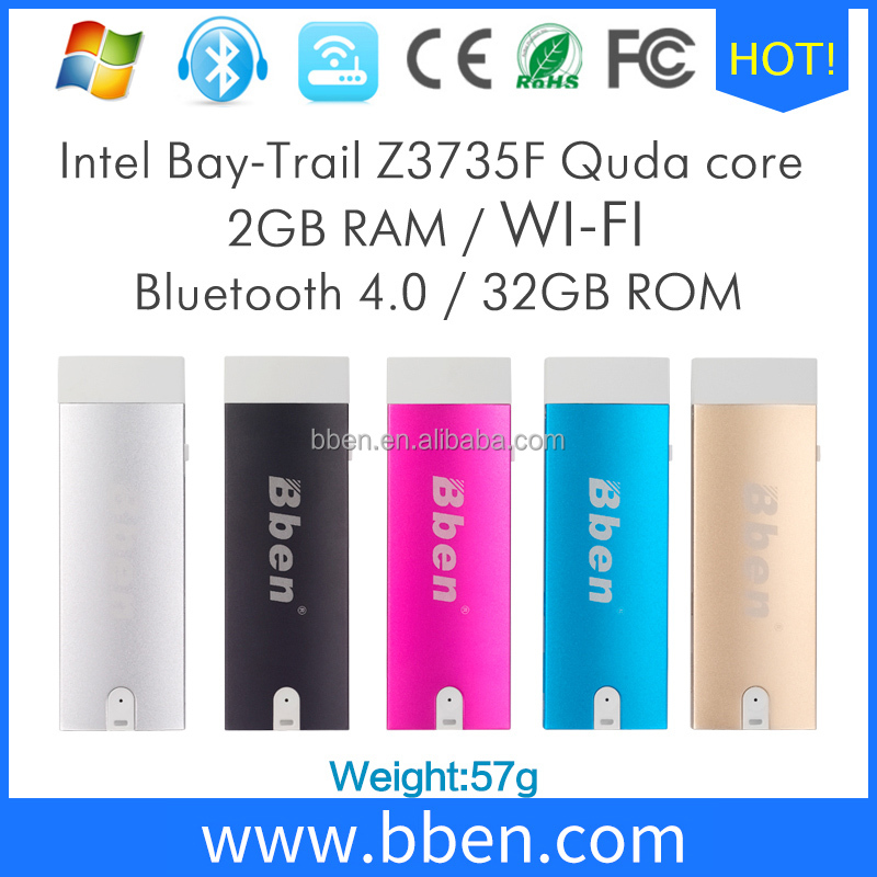Low cost mini <strong>TV</strong> Stick Wintel mini pc with Intel Z3735F Smart Windows 8 HDMI Wifi Stick