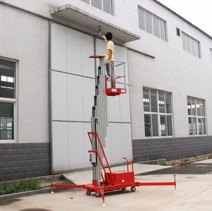Aerial working man lift/electric lift ladder/personal lift