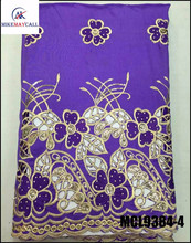 Wholesale 2016 BLACK raw silk fabric/beaded raw silk george ...
