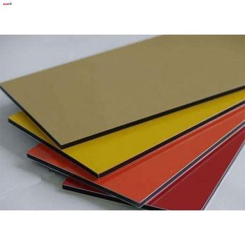 Aluminum Composite Panel Color Chart ACP Panel Sample Card