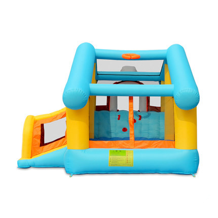 Hola mini inflatable castles with obstacle/inflatable bouncy castle for sale