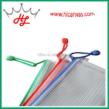 HLpvc mesh fabric the tarpaulin for recycled plastic bag