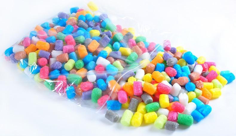 1000 PCs 12 colors magic corn plasticine clay natural material nontoxic 3D DIY play dough toys