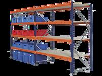 warehouse storage rack, longspan shelving