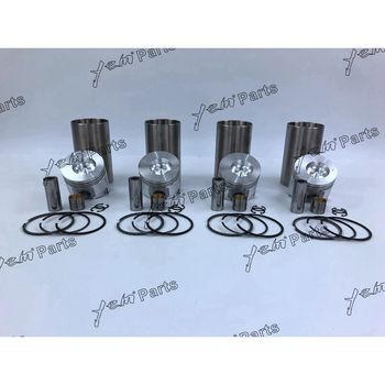 4TNE88 Cylinder Liner Kit With Pistons Rings Liner For Yanmar