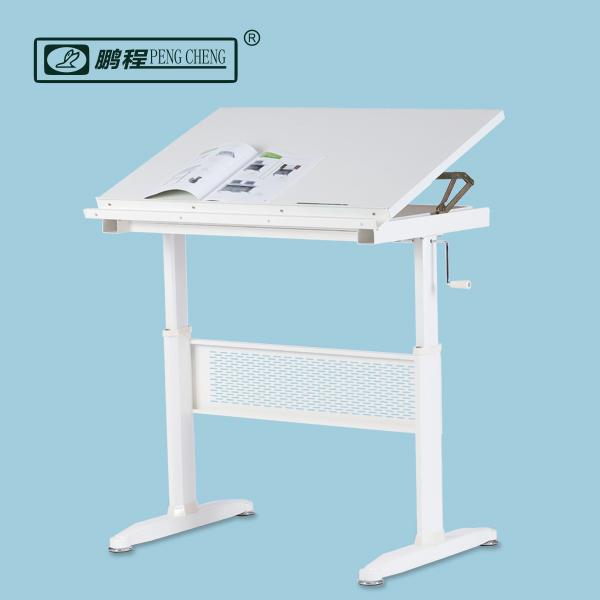 Arquitectura ingenier a ajustable en altura de mesa de - Mesas de arquitectura ...