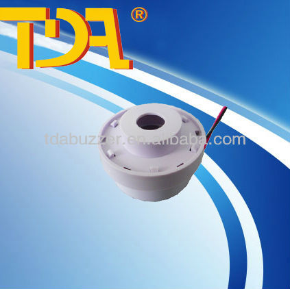 12vDC component 100dB siren 45mm electric smoke fire alarm