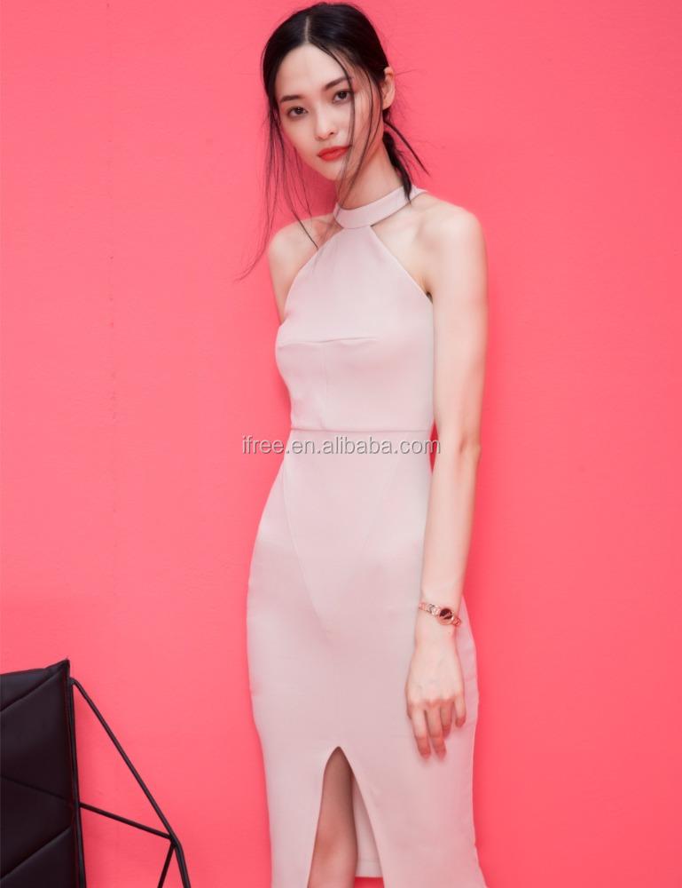 2017 mujeres verano sexy Night Club bodycon mostrar Thin Halter de ...