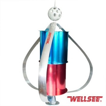 Wellsee maglev olienne axe vertical g n rateur vendre wt300w 12 lames l - Mini eolienne verticale ...