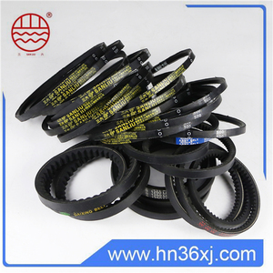 Industrial Sewing Machine Belts / Wrapped V Belts For Packaging Machinery