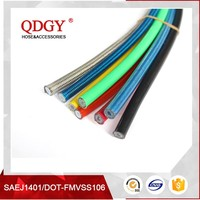 pretty and colorful dot sae j1401 fmvss106 motorcycle brake hose with dependable performance