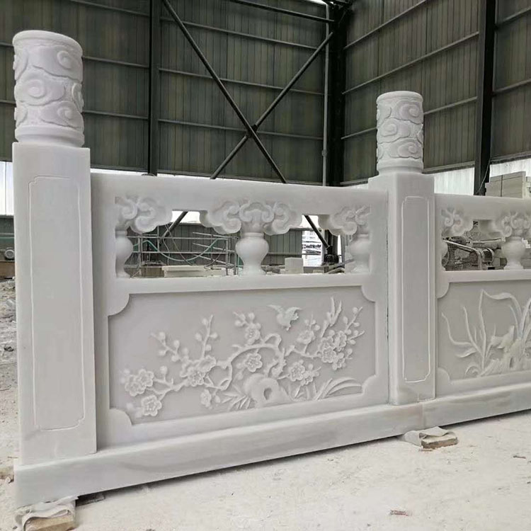 High Quality Home Decor Hand Carving Marble Stone Roman Column