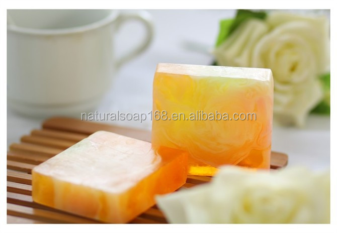 superior quality 100% herbal ingredient vitamins C and pearl exact natural soap