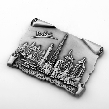 High quality cheap popular custom metal fridge magnet for sale