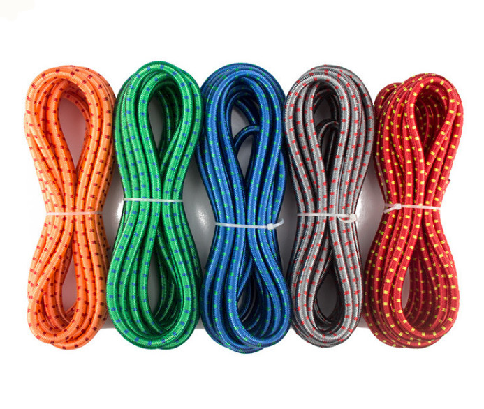 Objective 12mm Elastic Bungee Rope Shock Cord Tie Down Blackroof Racks Trailers Boats Good Reputation Over The World Parts & Accessories Marine Rope