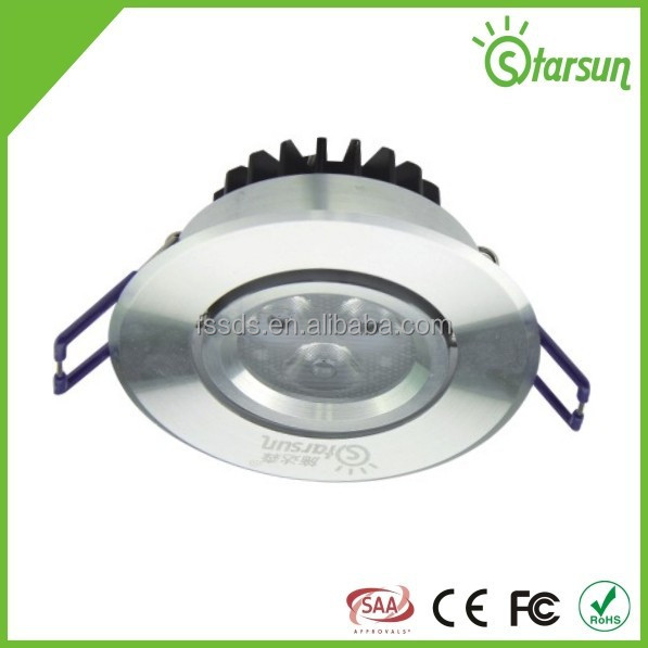 good quality best selling SMD led ceiling light 3w