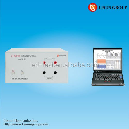 WT2000-HID HID Ballast Tester provides special software and PC communication is easy to take