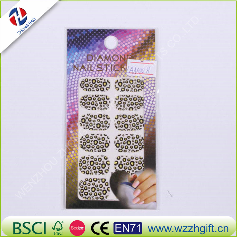 3D Diamond Nail Arts Sticker Waterproof Nail Decal Art Sticker Gel Polish Manicure Foils Beauty Makeup