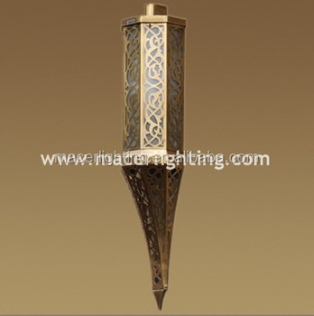 Arabian Style Hand-made Copper Outdoor Wall Light