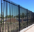 Euro Style Free Standing Metal Palisade Fence / Wrought Iron Fence Panel Hot Sale