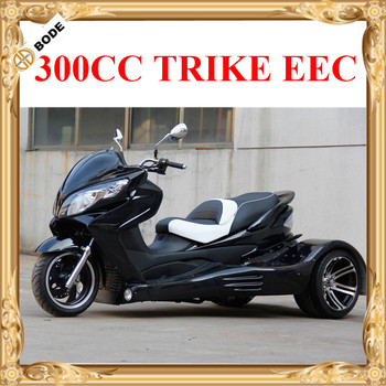 Gas 3 Wheel Motorcycle Trike Scooter With Cvt Clutch Automatic Gears - Buy  Trike Motorcycle,Three Wheel Gas Scooters,Trike Motorcycles Product on