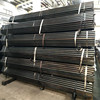 ASTM A53 standard ! steel tube hdpe black pipe with red stripe