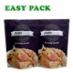 china heat seal foil mylar zip lock kraft paper stand up food packaging mylar gift pouch bags