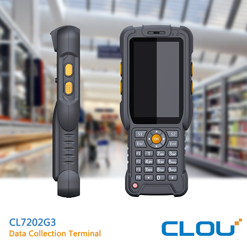 CL7202G3 Android RFID+1D+2D Touch Screen Handheld PDA Barcode Scanner