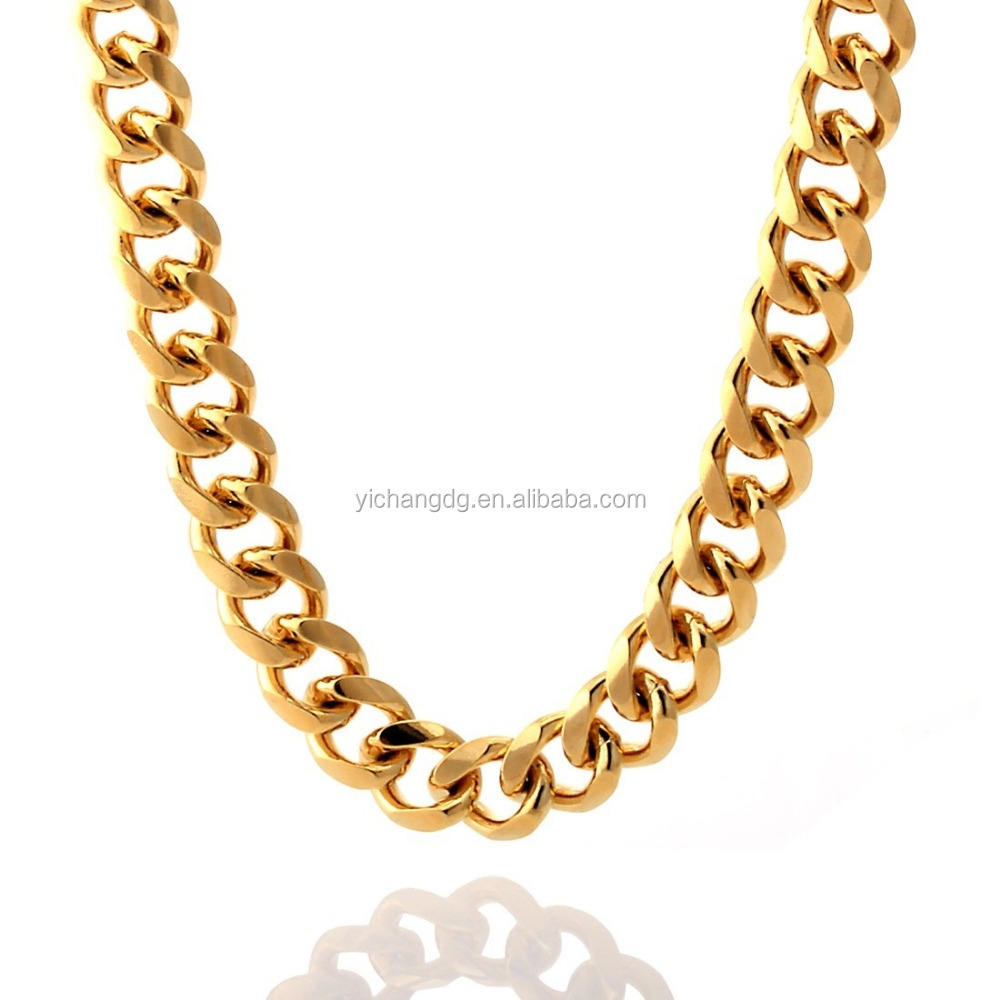 jewelryunlimited necklaces rope chains gold and mens com solid necklace chain yellow buy golden