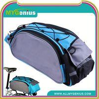 Bicycle large saddle bag H0T3bu rear seat bike bag