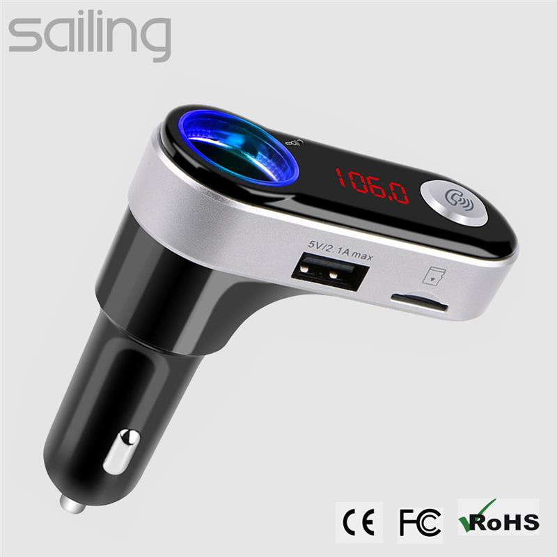 Hot selling instructions car mp3 player fm transmitter usb with low price