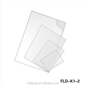 Wholesale Durable Frosted A1a2 A3 A4 A5 A6 Pvc Sheet For Pop Frames ...