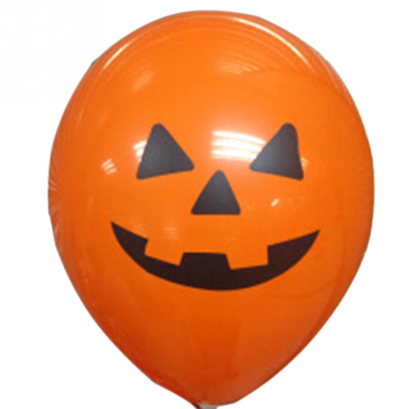 unidspack nueva lindo globo del partido decoracin de halloween calabaza forma mixta adornos