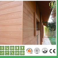 Wood Texture WPC Waterproof Decorative Exterior Wall Panels