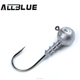AllBlue 10pcs/lot Exposed Lead Jig Head 10g Soft Lure Jigging Hook Fishing Tackle