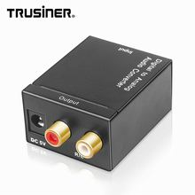 Digital Optical Naar Analoog Coax Rca Spdif Toslink Coaxiale L/R Adapter <span class=keywords><strong>Audio</strong></span> <span class=keywords><strong>Converter</strong></span>