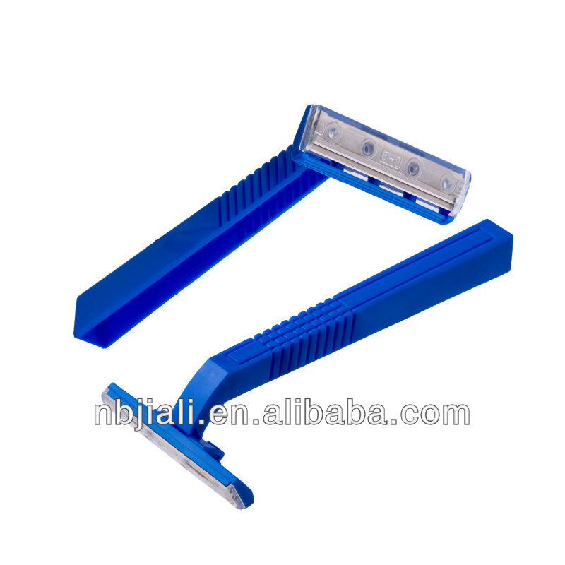 good quality twin blade plastic handle disposable razor blades
