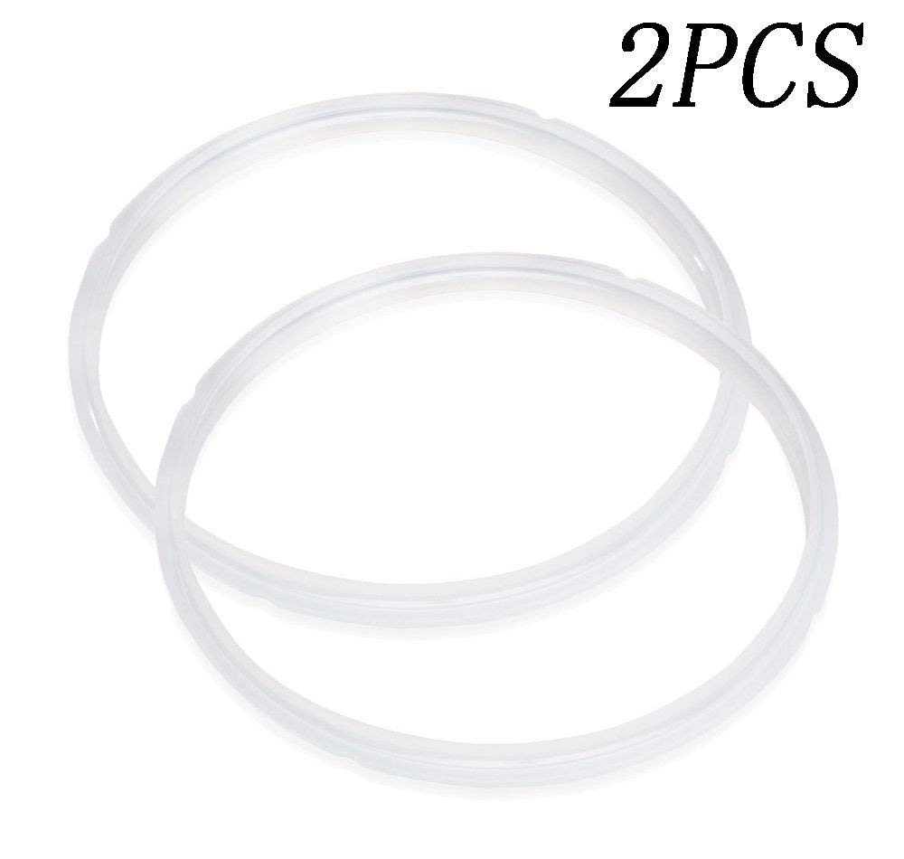 Pressure Cooker Sealing Rings [2 Pack], MyBreeze@ Fits IP-DUO60, IP-LUX60, IP-DUO50, IP-LUX50, Smart-60, IP-CSG60, IP-CSG50 | 100% Food Safe Silicone | BPA FREE | FDA APPROVED (5L6LA-YLQX2)