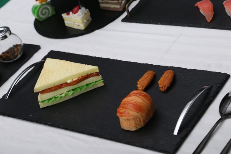 Vente Chaude: Noir Ardoise Plateau; Alimentaire Ardoise Plat De ...