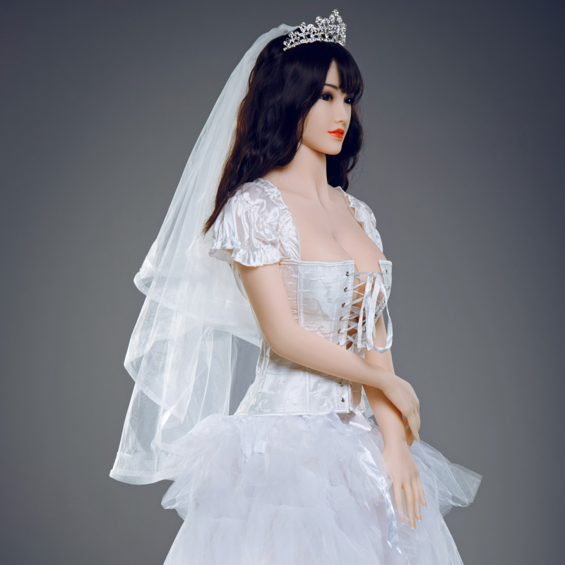 Online Buy A Silicone Sex Doll Realistic Bride Model Wife ...